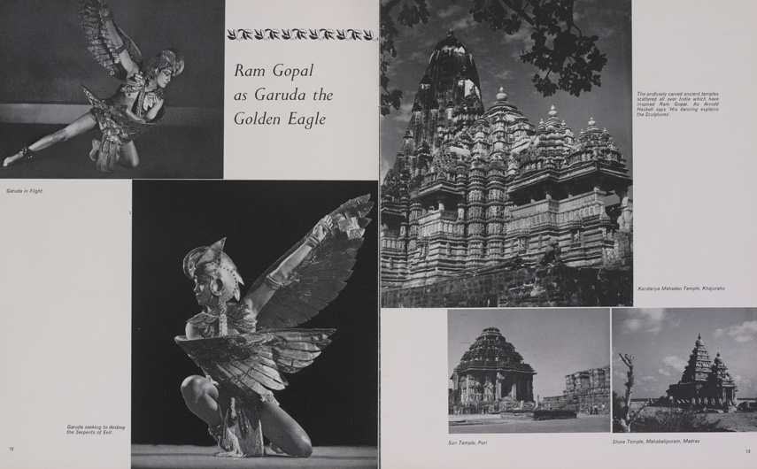 Ram Gopal in his Classical, Folk and Creative Dances - Programme