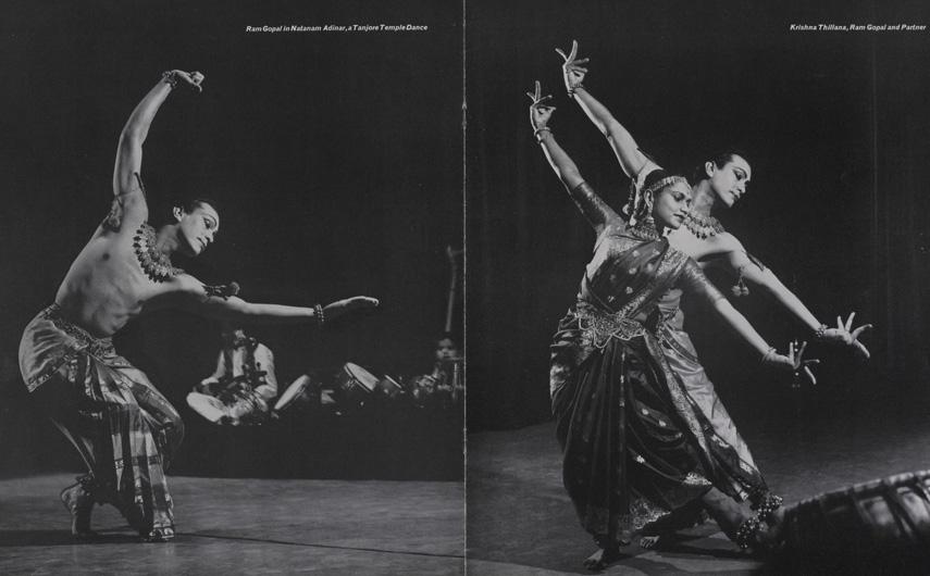 Ram Gopal in his Classical, Folk and Creative Dances - Programme
